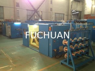 China FUCHUAN 4000Twist Copper Wire Bunching Machine With Touch Screen Operation supplier