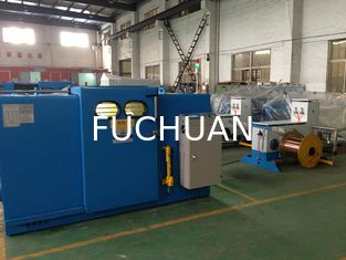 China Bare Copper Double Twist Bunching Machine 1.2Kgf Magnetic Powder Clutch supplier
