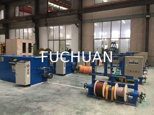 China 5.0Kgf Double Twister Wire Bunching Machine With Adjustable Winding Pitch supplier