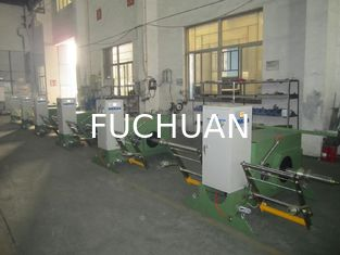 Copper Wire Double Twist Bunching Machine Multiple Drawing Bobbins Active Pay Off Machine