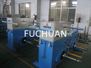 China four shafts/bobbins copper wire  active pay off machine supplier