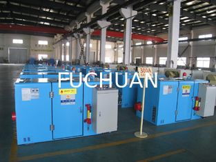 FUCHUAN Knob Control Wire Twisting Machine 10 Zones 6000 Twist Rotating Speed