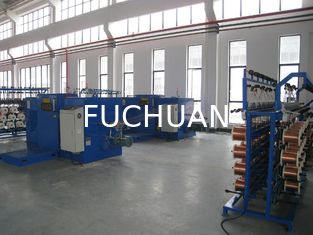 China Passive / Active Pay Off Copper Wire Bunching Machine / Equiment 50 Heads / Set supplier