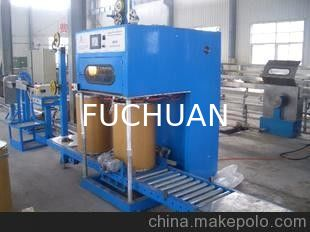 China ISO Double Twist Bunching Machine 630mm Core Wire Take Up Machine fit for extruder supplier