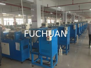 China Back Twist Alloy Wire Double Twist Bunching Machine 15 Sections Pitch supplier