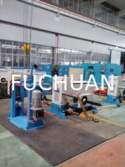China Doubling Wire Twisting Machine , Active Copper Wire Bunching Machine supplier