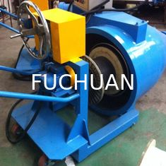 China Fuchuan Lut Barrel Up Pay Off for Plastic Extrusion Line 800mm Bobbin supplier