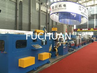 China PP PE PVC Extrusion Machine 800M / Min Linear Speed For Core Wire Extrude supplier