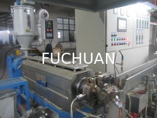 China High Temperature Plastic Extruder Machine Line Horizonal Type 45 mm Screw supplier