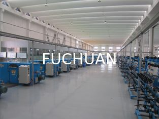 China Blue Normal Wire Twisting Machine Double Twist For Bunched Copper Wire Pay Off supplier