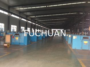 China Normal Copper Wire Bunching Machine 34 Zones Adjudtable Winding Pitch supplier