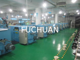 China FUCHUAN Sky Blue Double Twist Copper Wire Bunching Machine  Diameter 630mm supplier