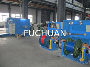 China FUCHUAN Standard  Double Copper Wire Twisting Machine / Bunching machine Diameter 630Mm Touch Screen Operation supplier