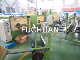China Frame Type Copper Wire Passive Pay Off Machine Apple Green With Buncher supplier