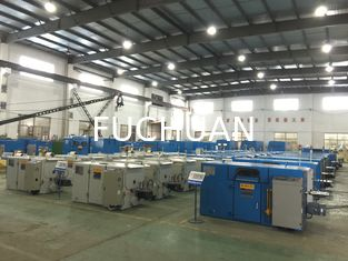 China Bare Copper Wire Bunching Machine / Equipment 6000 Twist 6.3mm - 52.3mm Pitch supplier
