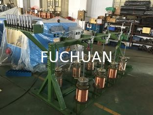 China Powerful Double Twist Bunching Machine For Bare Copper Wire / Tinned Wires supplier