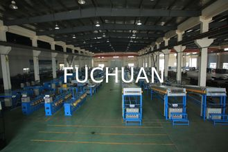 China Round Copper Wire Annealing Machine Sky Blue With Water Seal Protection supplier