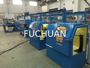 China Copper Wire Extruder Machine One Shaft With 1000 Take Up Machine supplier