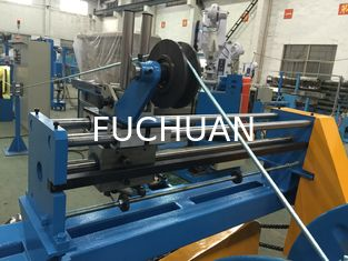 China Double Shaft Wire Extruder Machine For Silver Jacketed Wires Φ0.5~3.0 supplier