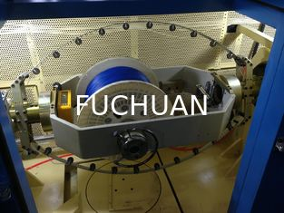 Insulated Core Wire Bunching Machine Double Twist Torsion Free Cabling Equipment