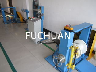 Sky Blue Cable Extrusion Machine 120 Tension Rack Dia 500mm - 630mm Bobbin