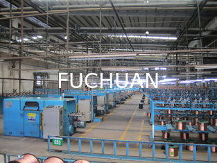 China FUCHUAN Tinned Wire , Silver Jacketed Wire Copper , Wire Bunching Machine / Equipment supplier