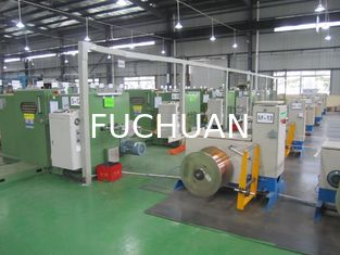 China 3000 Rpm Double Twist Bunching Machine For Enamelled Wire Tinned Wires supplier