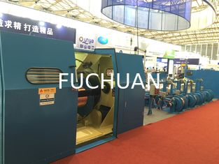 China Cable Double Twist Bunching Machine , Plastic Wire Bunching Machine supplier