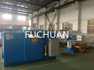 China Sky Blue Wire Buncher Machine With Core Wire Stranding Outer Dia 1 To 6mm supplier