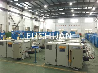 China Fuchuan Ultra Fine Wire Twisting Machine 0.03mm - 0.32mm Cable Braiding Machine supplier