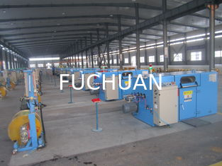 China Bare Copper Wire Bunching Machine / double twist cable bunching machine supplier