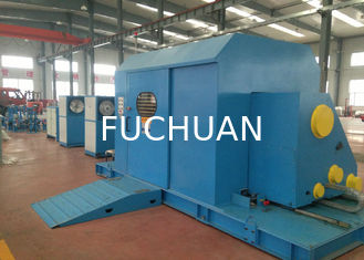 China Fuchuan Cantilever  Cable Twisting Machine with Centre Coil Tapping 1000 Bobbin supplier