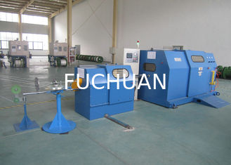 China Single Twist Copper Wire Twisting Machine 30MM - 200MM Cable Laying Equipment supplier