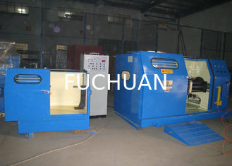 China Cable Laying Single Twist Machine Gear Pitch For PE / PVC Core Wire supplier