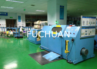China Frame single twist buncher machine Max Outer Dia 25mm , 500rpm supplier