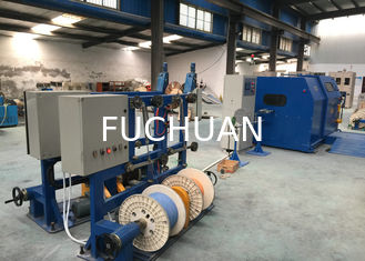 China Copper Wire single cable machine / cable laying machine Dia 0.6-3mm supplier
