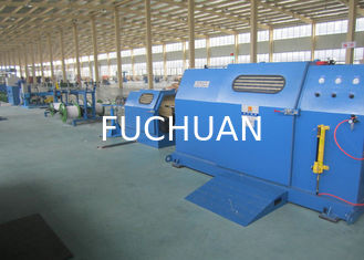 China Sky Blue 3Pcs Core Wire / cable braiding machine With 700Rpm Stable Rotation supplier
