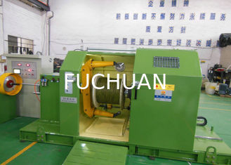 China Durable Cable Twisting Machine / Single Twist Core Wire Stranding Machine supplier