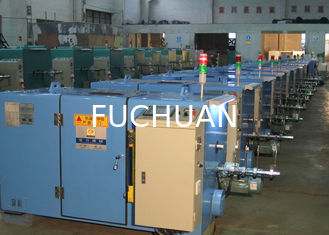 China Double Twisting Copper Wire Bunching Machine With Electromagnetic Brake supplier