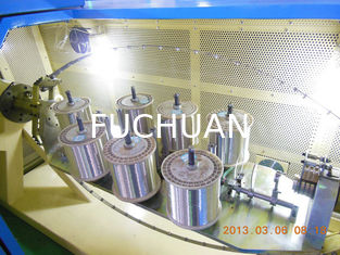China High Effenciency 19Pcs Copper Wire Bunching Machine Twisting In One Time supplier