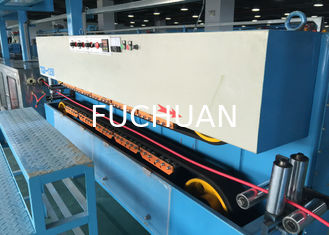 China Automated Pvc Wire Making Machine / Silent Cable Wire Manufacturing Machines supplier
