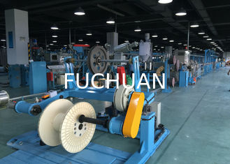 China Double Shaft Cable Extruder Machine / Silent Copper Extrusion Machine supplier