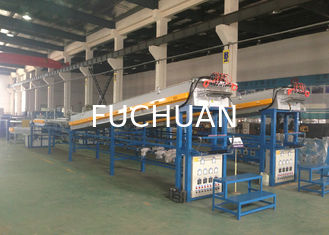 China Flexible Alloy Wire Tube Annealing Machine 61Kw Water Seal Protection supplier
