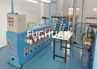 China 0.03mm - 0.08mm Tiny Wire Annealing Machine 26Kw Take Up Control supplier