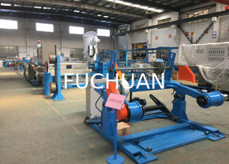 China FC-1250 Magnetic Tension Wire Pay Off Machine And 1250 Take Up Machine For Extruder Line supplier