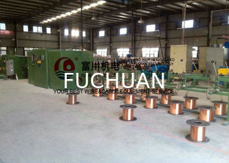 China 2000 Rpm 19pcs Copper Wire Twisting Machine For Punching Synchronous φ0.16mm - φ0.64mm supplier