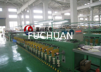 China Ultra Fine Copper Wire Tube Annealing Machine , Energy Saving Wire Tinning Machine supplier