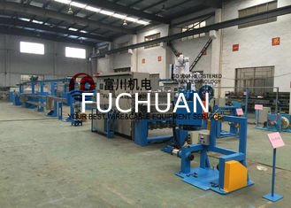 China Plastic Insulating Wire Extruder Machine With Screw Dia 60mm 600 m / min supplier