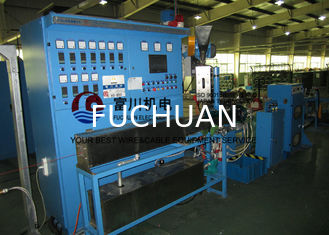 China Photovoltaic 50 Cable Extrusion Machine Non - Halogen Flame Resistant Wire Dia 0.6-4mm supplier