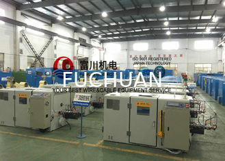 China PLC Control Copper Wire Processing Equipment For Stranding Ultra Conductor supplier
